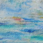 blaue Impressionen an der See von Antje Strang